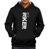 Image of I am a Biker-Hoodie Black