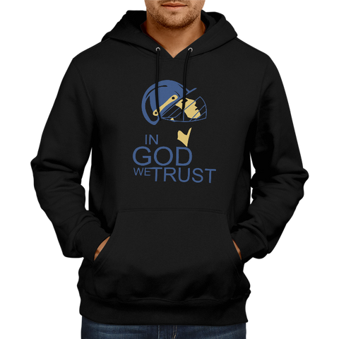 CRIC 32- In God We Trust-Hoodie-Black