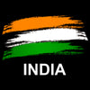 Image of India Flag Full Sleeve Black