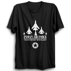 Indian Air force Half Sleeve Black
