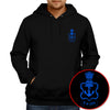 Image of Indian Navy Logo Hoodie - Black