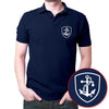 Image of Indian Navy Polo T-Shirt Navy Blue