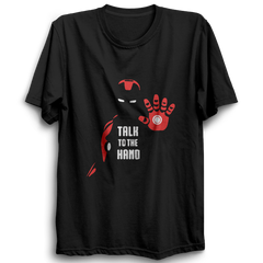 Ironman Talk To The Hand Half Sleeve Black
