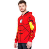 Image of Iron Man Full Print Zipper Hoodie