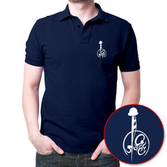 Jai Hind Polo T-Shirt Navy Blue