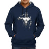 Image of John cena Illustration - Navy Blue Hoodie