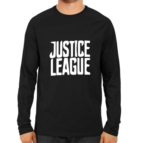 Justice League 2 Full Sleeve Black