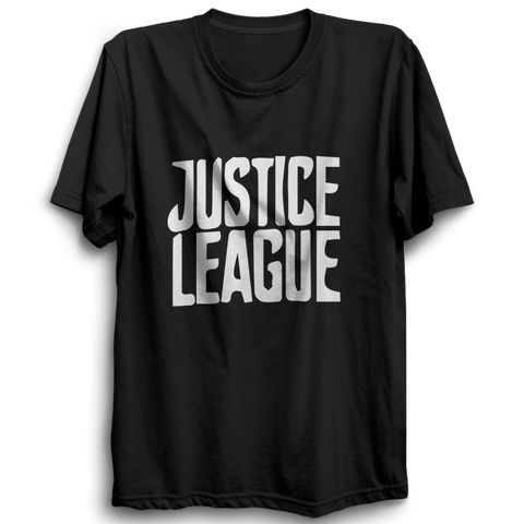 Justice League 2 Half Sleeve Black