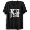 Image of Justice League 2 Half Sleeve Black