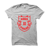 Image of IPL 04 - Kings XI Punjab -Half Sleeve Grey