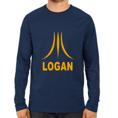 Logan Full Sleeve Navy Blue