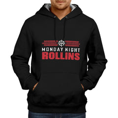 Monday Night Rollins - Black Hoodie