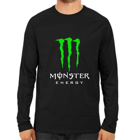 Monster Energy Full Sleeve Black