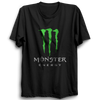 Image of Monster Energy Half Sleeve Black