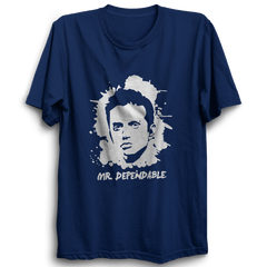 CRIC 11- Dravid Mr.Dependable -Half Sleeve-Navy Blue