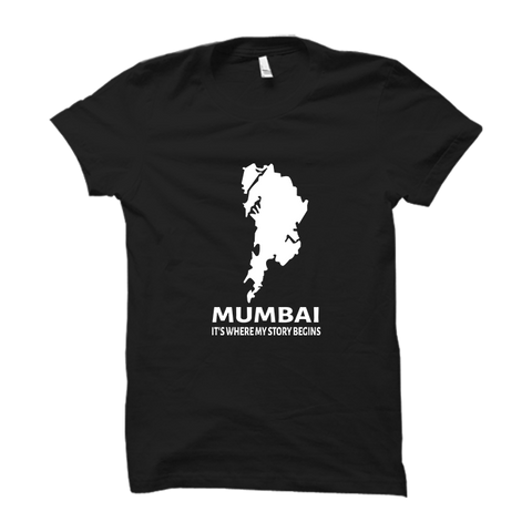 Mumbai Half Sleeve- Black