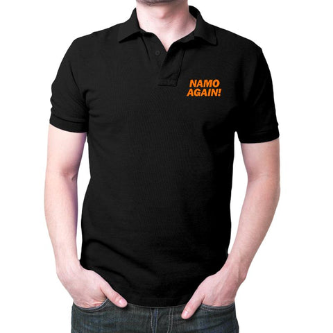 Namo Again Polo T-Shirt Black