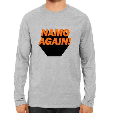 Namo Again -Full Sleeve Grey