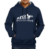 Image of Natural Born Biker - Navy Blue Hoodie