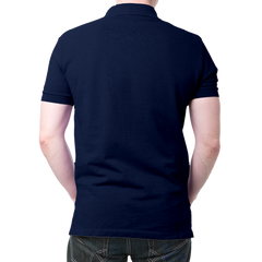 HDFC Logo Polo T-shirt- Navy Blue