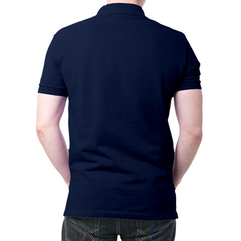 Namo Logo Polo T-Shirt Navy Blue