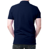 Image of Who Dare Wins Polo T-Shirt Navy Blue