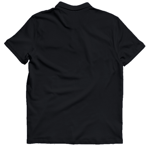 IIM Calcutta Polo T-shirt Black