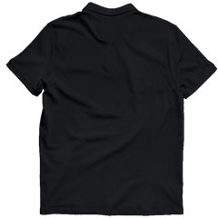 IIT Kanpur Polo T-shirt Black