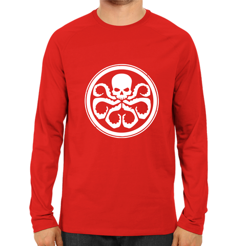 Octopus Full Sleeve Red