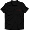 Image of Oracle  Polo T-shirt Black