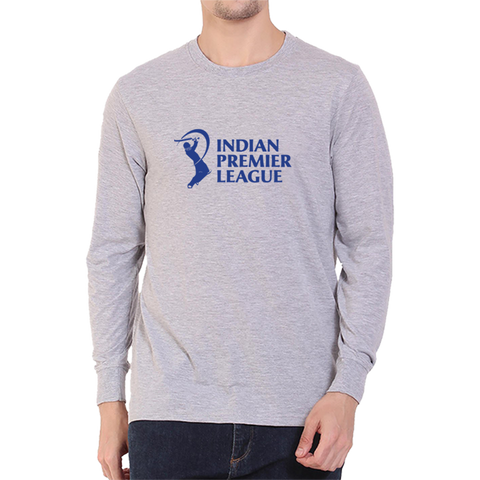 IPL 03 - Indian Premier League - Full Sleeve Grey