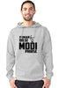 Image of Pukar Dilse Modi Phirse - Grey Hoodie