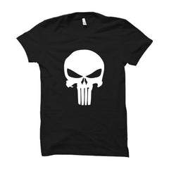Punisher Logo-Half Sleeve (Glow In The Dark)