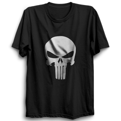 Punisher logo Half Sleeve Black