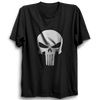 Image of Punisher logo Half Sleeve Black