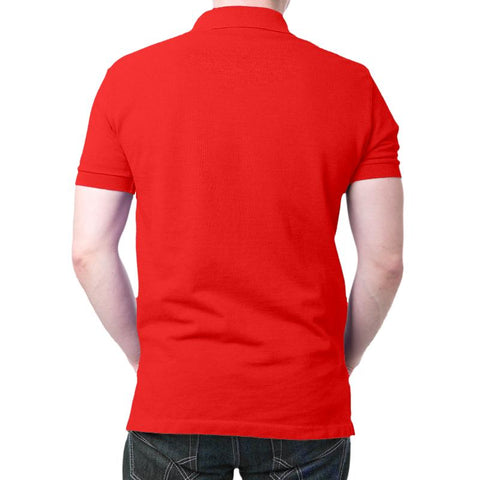 Bhartiya Vayu Sena Polo T-Shirt Red