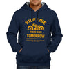 Image of Ride Like There Is No Tomorrow - Navy Blue Hoodie
