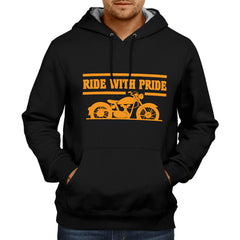Ride With Pride - Black Hoodie