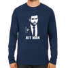 Image of CRIC 22- Rohit Sharma Hit Man -Full Sleeve-Navy Blue