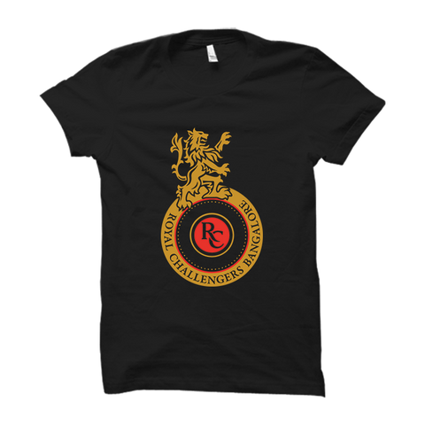IPL 08 - Royal Challengers Bangalore -Half Sleeve Black