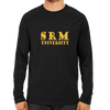 Image of SRM University Full Sleeve-Black