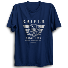 Shield Academy Half Sleeve Navy Blue