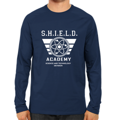 Shield Academy Full Sleeve Navy Blue