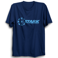Stark Industries Half Sleeve Navy Blue