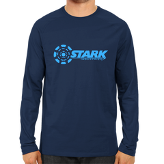 Stark Industries Full Sleeve Navy Blue