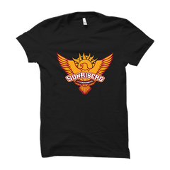 IPL 09 - Sunrisers Hyderabad -Half Sleeve Black