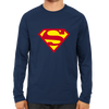 Image of Superman Full Sleeve Navy Blue