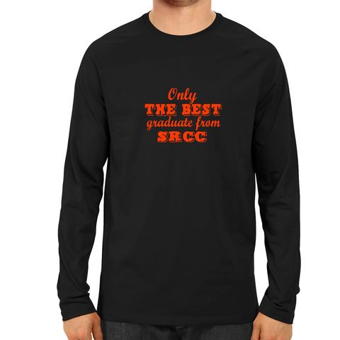 The Best Graduate From SRCC Full Sleeve-Black