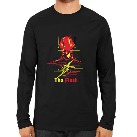 The Flash Full Sleeve Black