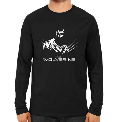The Wolverine Full Sleeve Black